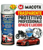 PROTECTIVE TRANSPARENT SPRAY PAINT KZ 100 1K GLOSSY AND MATT
