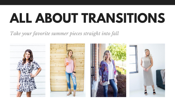 All About Transition Pieces