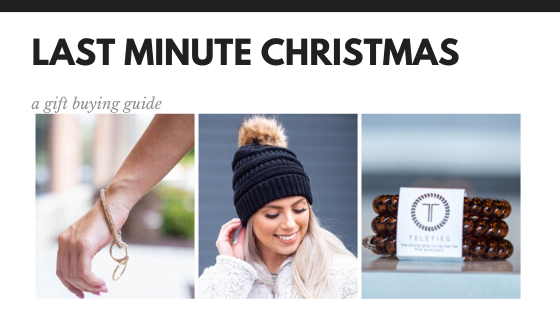 Last Minute Christmas Gifts: A Guide