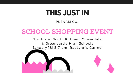 Just In- School Shopping Nights