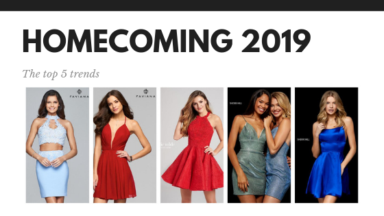Homecoming 2019 Trends
