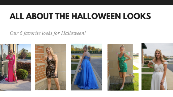 All About Halloween-- Prom Recycle Edition