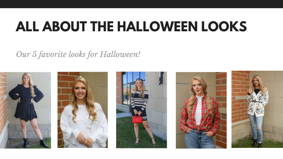 All About the Halloween Looks