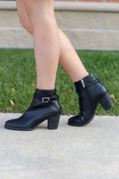 Showstopper- Black Bootie