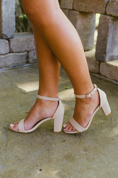 Striking- Nude Heel