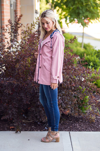 Talia-Lightweight Hooded Jacket