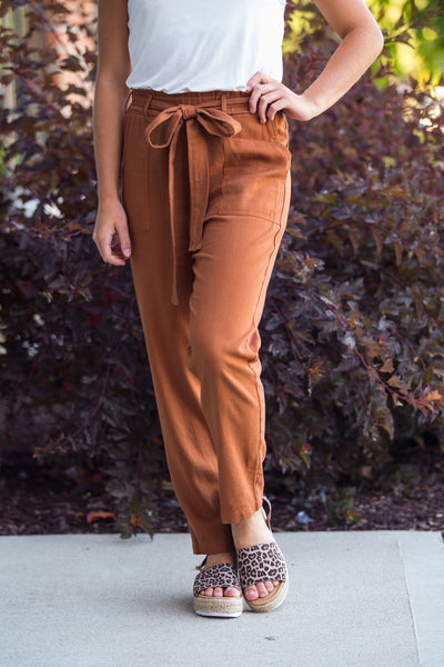 Keep It Real-High Waisted Cargo Pants