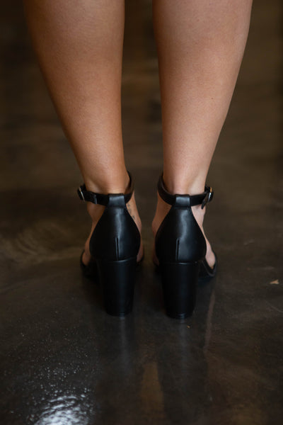 Striking- Black Heel
