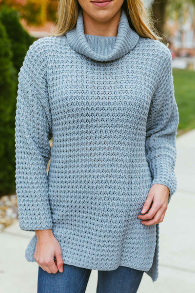 Let It Go- Turtleneck Sweater Tunic