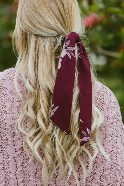 Hearts Are Full- Burgundy Cardigan