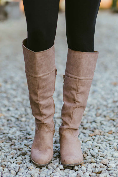 Later Days -Taupe Boots