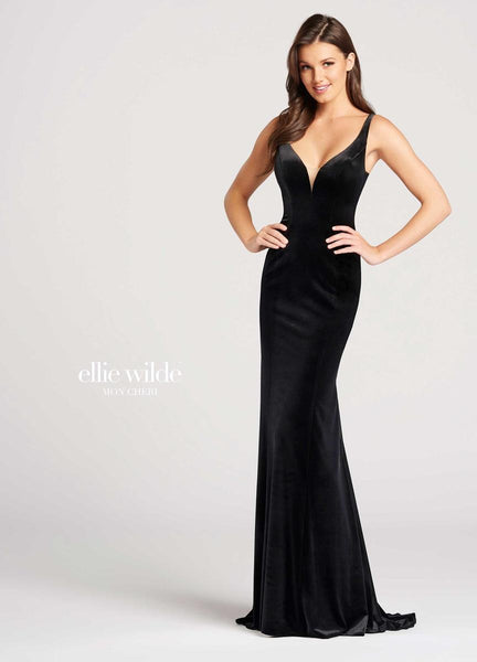 The fabric in this Ellie Wildestyle is Velvet & Metallic Embroidered Lace   Ellie Wilde by Mon Cheri
