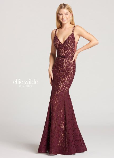 The fabric in this Ellie Wildestyle is Lace   Ellie Wilde by Mon Cheri