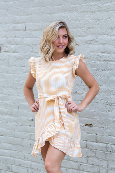 Here Comes The Sun- Woven Short Dress