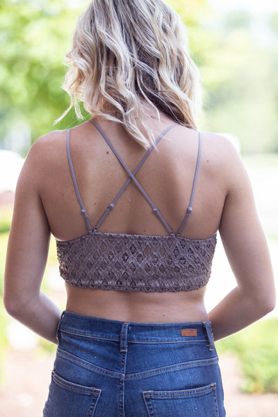 Sweet Thing- Double Strap Cocoa Bralette