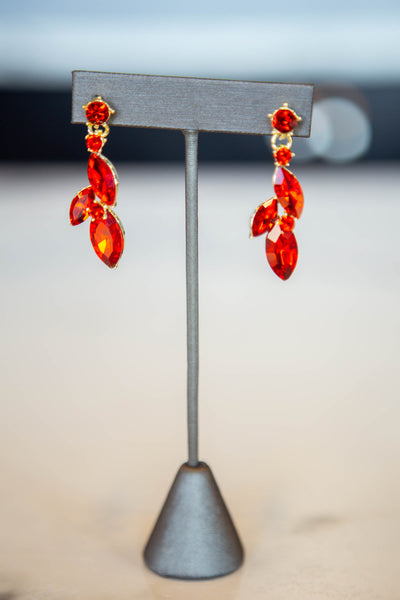 Rosa- Flower Detail Earrings