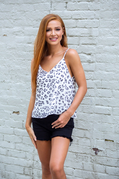 Wild Side-Cami Swing Top