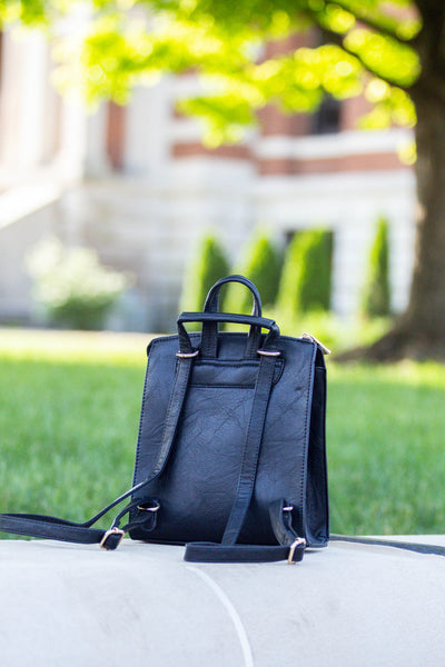 Every Day- Black Backpack