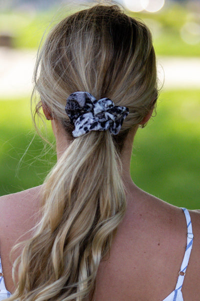 Made Ya Look- Snake Print Scrunchie