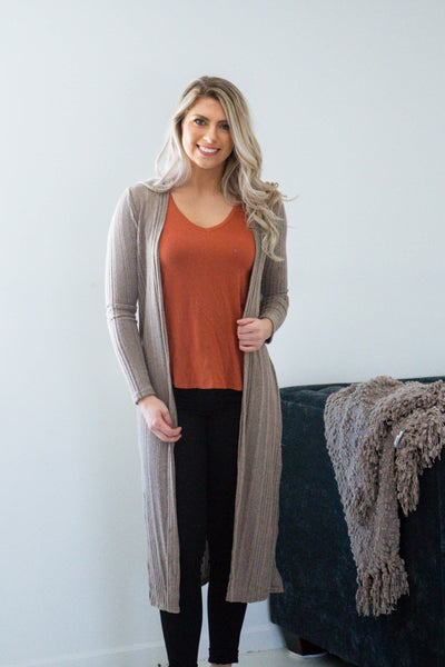 Everything and More-Long Sleeve Duster