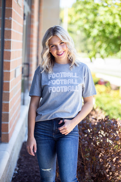 Football Football Football-Graphic Tee
