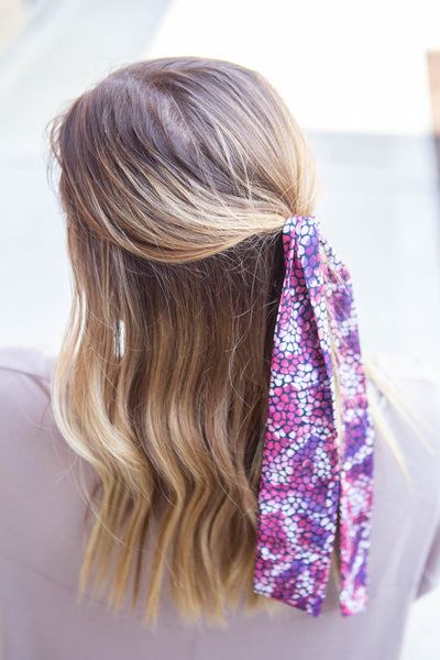 Wildin'-Magenta Hair Scarf