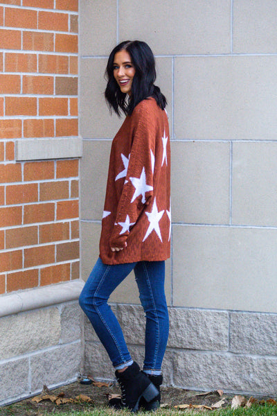 Starry Night-Star Sweater
