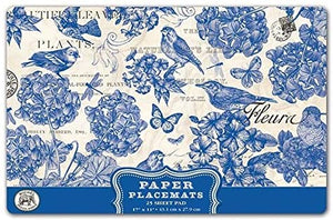 Paper Placemats - Indigo Cotton