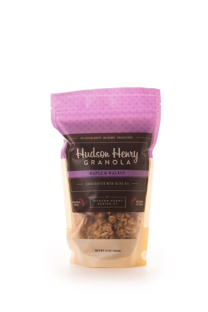 Hudson Henry Granola - Maple & Walnut