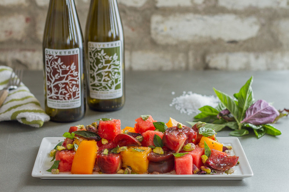Tomato-Watermelon Salad Recipe