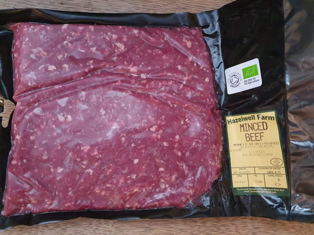 Beef mince – 450g