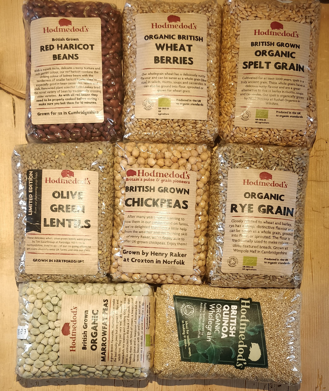 Dried pulses & grains