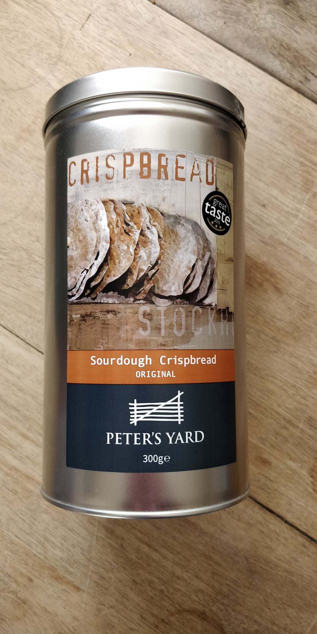 Sourdough crispbread tin - 300g