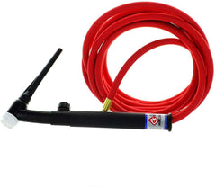 * CK Worldwide | TIG Torch #17 Style w/ gas valve - (CK17V-25-RSF FX) W/ 25ft. Super Flex hose