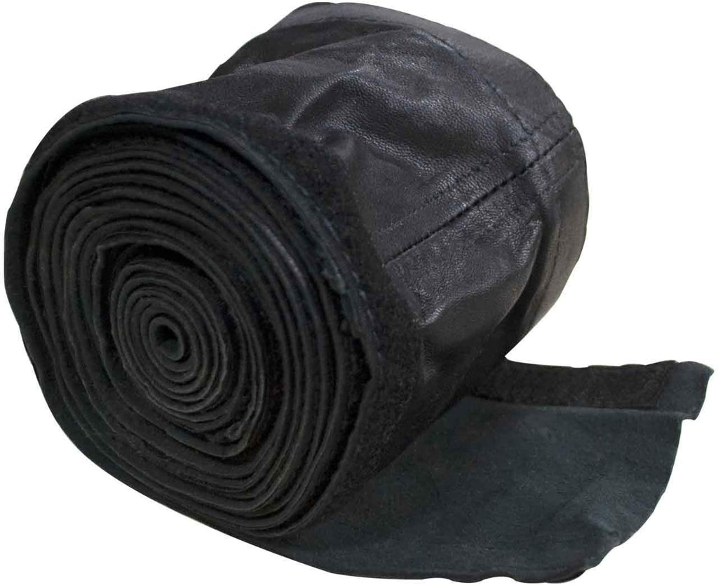 "*CK Worldwide CK 212HCLV Hose Cover 10' Leather w/ velcro (3-3/4"")"
