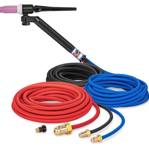 * CK Worldwide | TIG Torch FL250 - Water Cooled 3 Series (CK-FL2525SF) W/ 25ft. Super Flex Cable