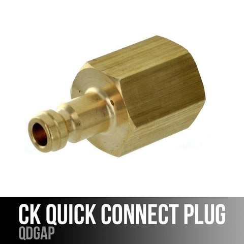 CK Worldwide QDGAP Quick Connect Adapter Plug