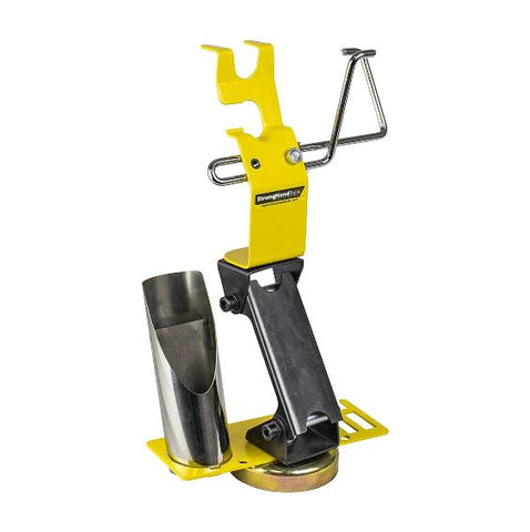 Strong Hand Tools -  MRT300 Ready Rest Magnetic TIG Torch Holder w/ Cable Hanger (Adjustable Height + Accessory Plate)