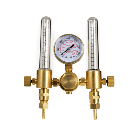 SPARC Dual Output Argon Regulator Flowmeter