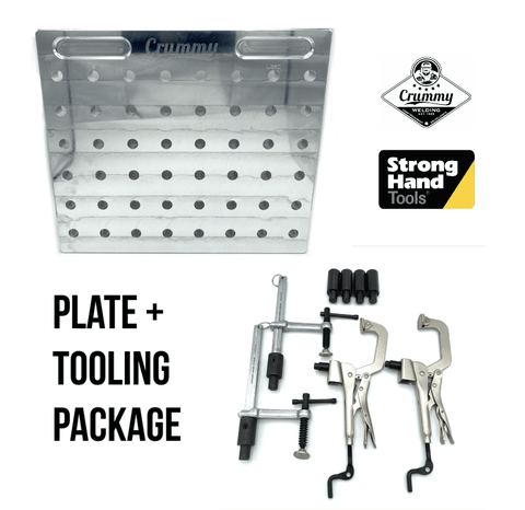 * Crummy - Through Hole Fixture Plate + Stronghand BuildPro Tooling Package (Basic)