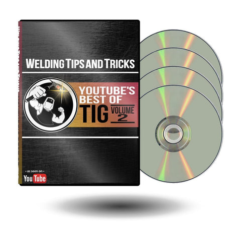 Weldmonger's Best of TIG: Volume 2 (2020) DVD Set