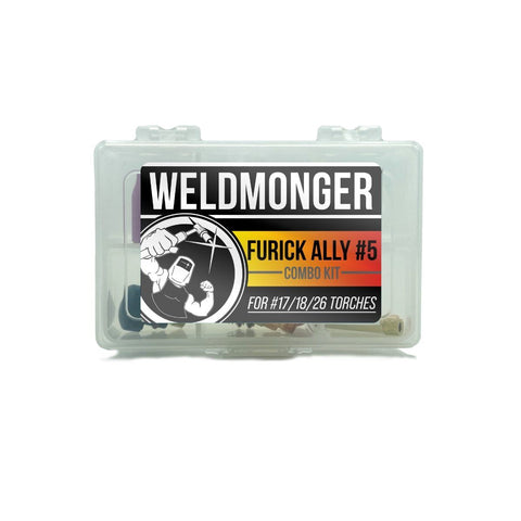 Furick Ally #5 | CK Worldwide Combo Kit - For 17/18/26 Style Torches (Aluminum)