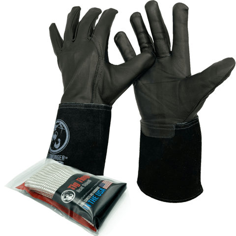 Weldmonger™ TIG Glove® & TIG Finger® Bundle (Black)
