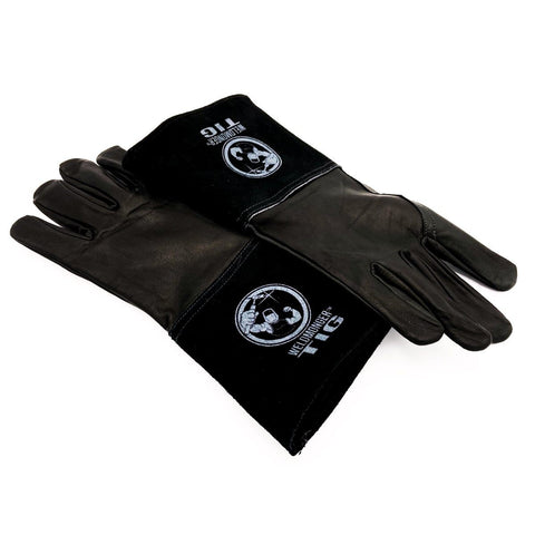 "Weldmonger® TIG Welding Gloves - Black 3"" Cuff"