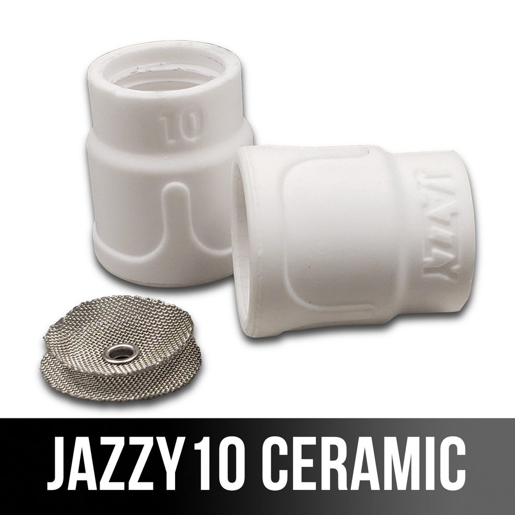 Furick Jazzy 10 Ceramic TIG Cup Kit <br>(for #9/20 Torches)-Weldmonger Store (USA)