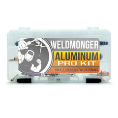 Weldmonger™ Aluminum PRO Kit - for #17/18/26 Style Torches