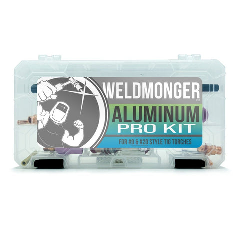Weldmonger™ Aluminum PRO Kit - for #9/20 Style Torches