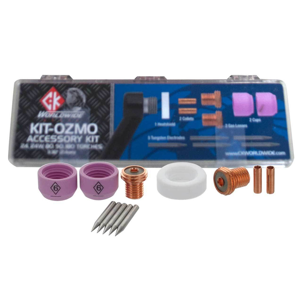 CK Worldwide KIT-OZMO TIG Accessory Kit, OZMO Consumables