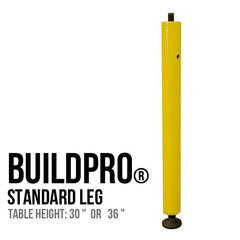 * Stronghand BuildPro® Slotted 6-1/2' x 4' Table - Nitride Finish