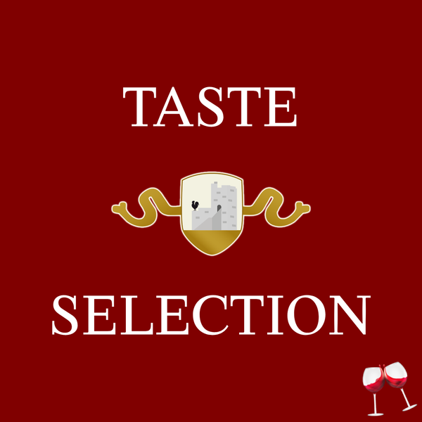 TASTE SELECTION (2 Glasses included)